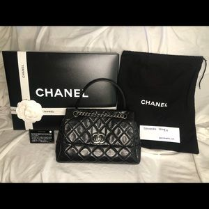 ✨AUTHENTIC✨ Small Chanel Lady Pearly Flap Bag